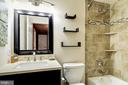 Basement Level Full bathroom - 917 LINSLADE ST, GAITHERSBURG