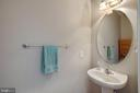 Powder Room/ Half Bath - 12157 CANTERBURY CT, KING GEORGE