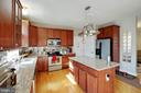 Large Island with Granite - 12157 CANTERBURY CT, KING GEORGE