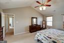 Maser Bedroom Vaulted Ceilings - 12157 CANTERBURY CT, KING GEORGE