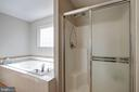 Separate Shower - 12157 CANTERBURY CT, KING GEORGE