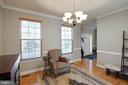 Formal Dining Area with Chair Railing - 12157 CANTERBURY CT, KING GEORGE