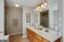 Double Sinks Master Bath - 12157 CANTERBURY CT, KING GEORGE