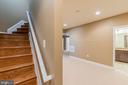 Lower Level Stairs - 3145 BARBARA LN, FAIRFAX