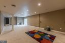 Daylit Recreation Room - 3145 BARBARA LN, FAIRFAX