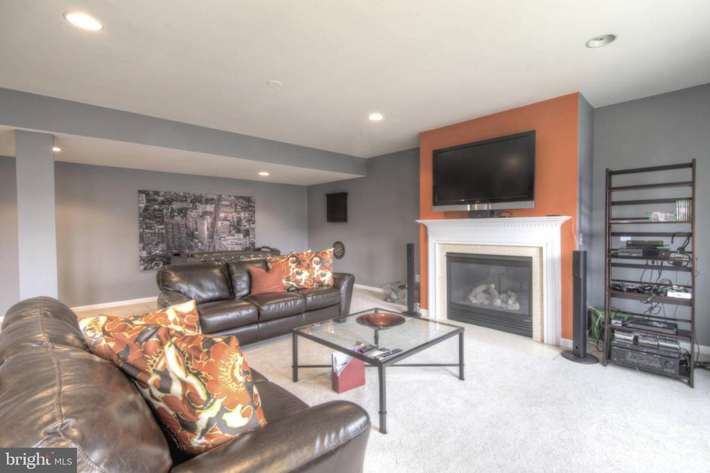 Family Room at basement - 43820 RIVERPOINT DR, LEESBURG