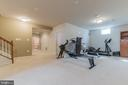 Large basement - 23081 PECOS LN, BRAMBLETON