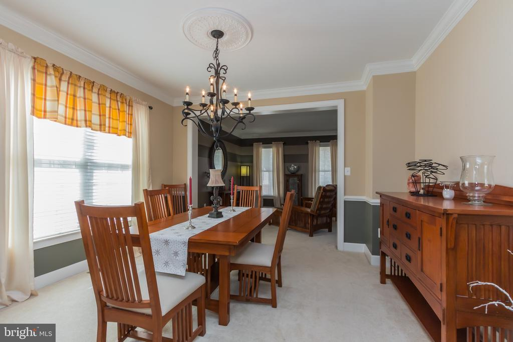 Formal Dining Room. - 23081 PECOS LN, BRAMBLETON