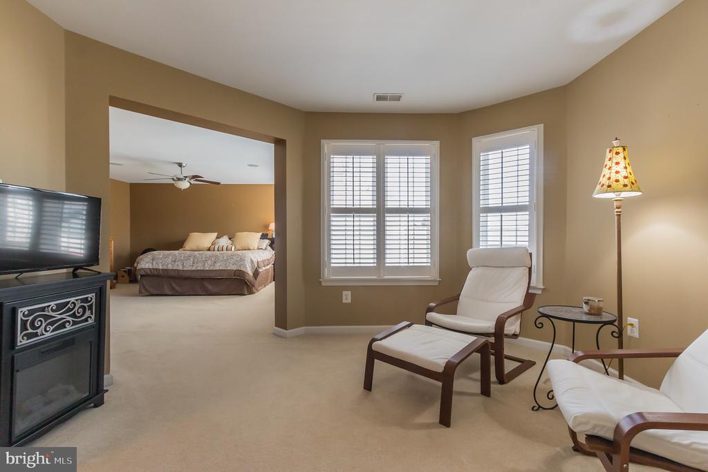 Master sitting room - 23081 PECOS LN, BRAMBLETON