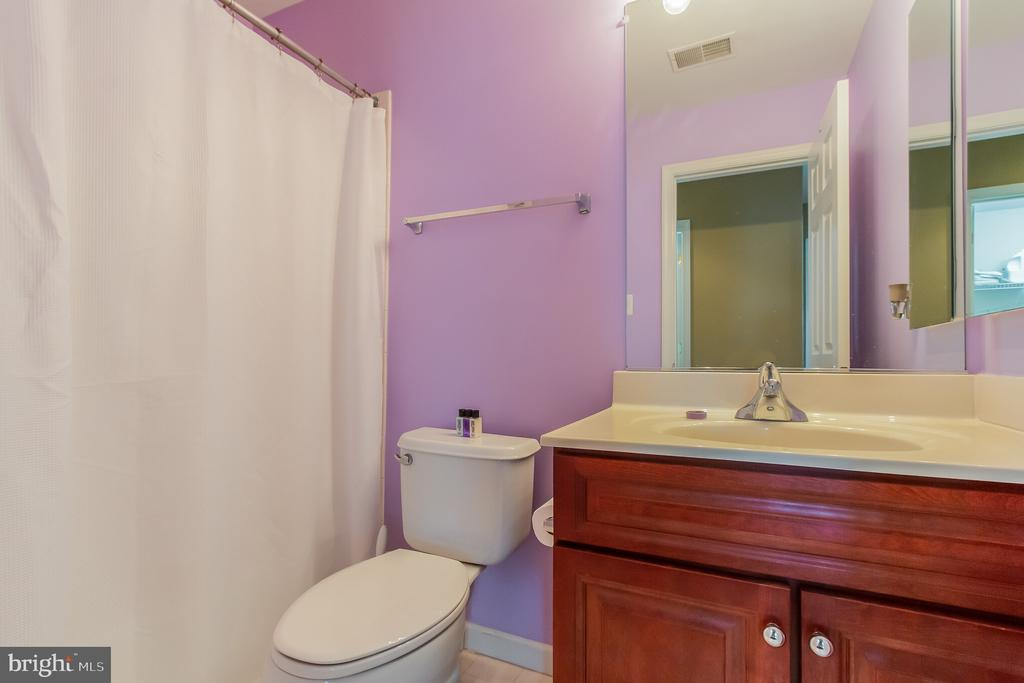 Hall bath - 23081 PECOS LN, BRAMBLETON