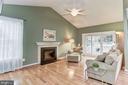 Family room - 43304 DRESSMAKER LN, CHANTILLY