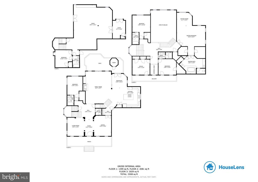 Floor Plan - 12328 TIDESWELL MILL CT, WOODBRIDGE