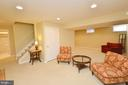 Lower Level Recreation Room - 18707 DRUMMOND PL, LEESBURG