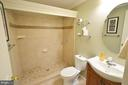 Lower Level Full bath - 18707 DRUMMOND PL, LEESBURG