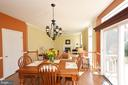 Eat in kitchen - 18707 DRUMMOND PL, LEESBURG