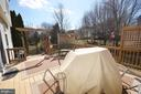 Spacious deck for outdoor enterating - 18707 DRUMMOND PL, LEESBURG