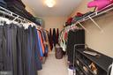 Master Bedroom walk in closet - 18707 DRUMMOND PL, LEESBURG