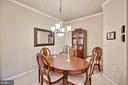 Large Dining area - 815 BRANCH DR #405, HERNDON