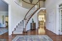 Grand entrance - 9709 BROOKSTONE LN, VIENNA