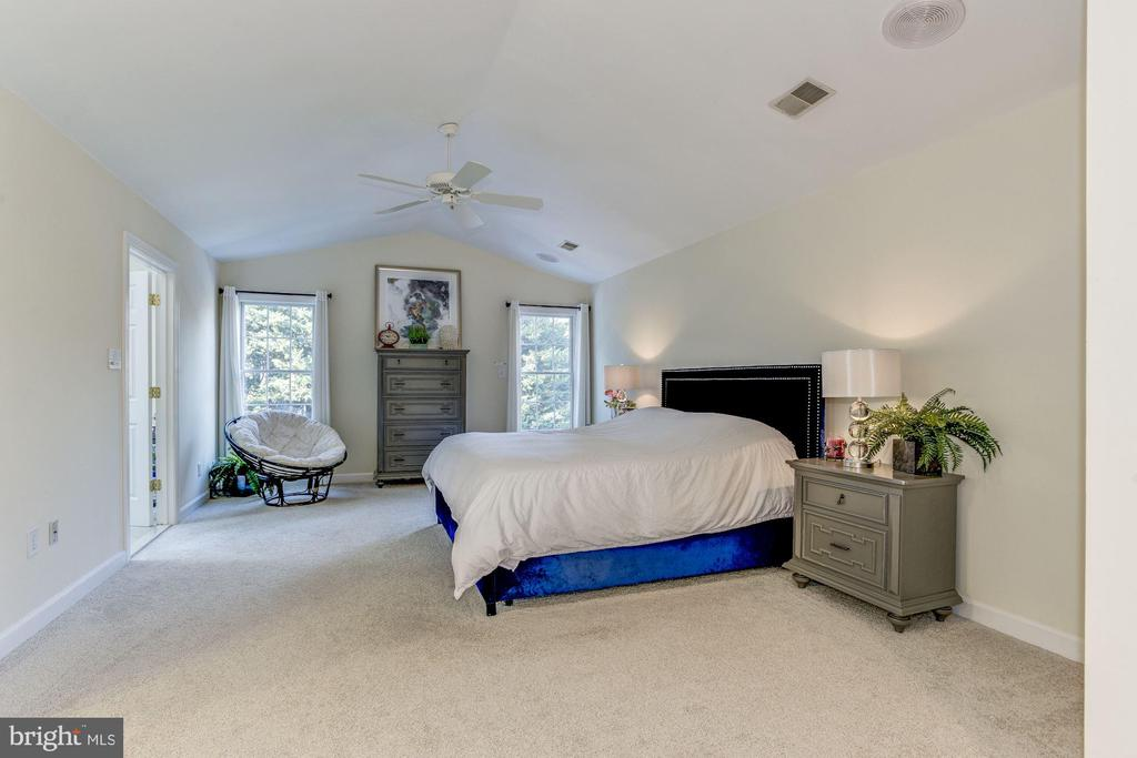 Master Suite with large walk-in closet - 9709 BROOKSTONE LN, VIENNA