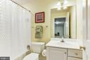 Lower Level Full Bath - 9709 BROOKSTONE LN, VIENNA