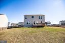Flat, fenced yard, deck (12X16) - 60 IVY SPRING LN, FREDERICKSBURG