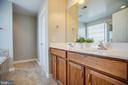Dual vanities, walk-in closet off the master bath - 60 IVY SPRING LN, FREDERICKSBURG