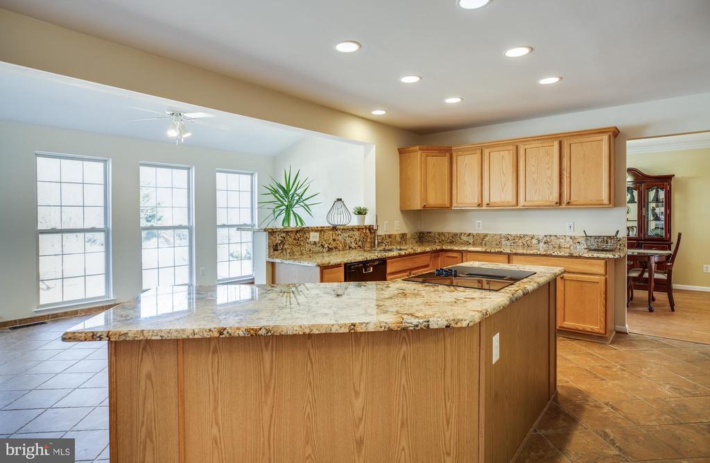 Chef's dream- granite counters, porcelain floors - 5 KLINE CT, STAFFORD