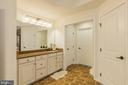 Master bathroom - 3344 SOARING CIR, WOODBRIDGE