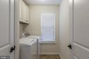 Laundry room is located on the second floor - 3344 SOARING CIR, WOODBRIDGE