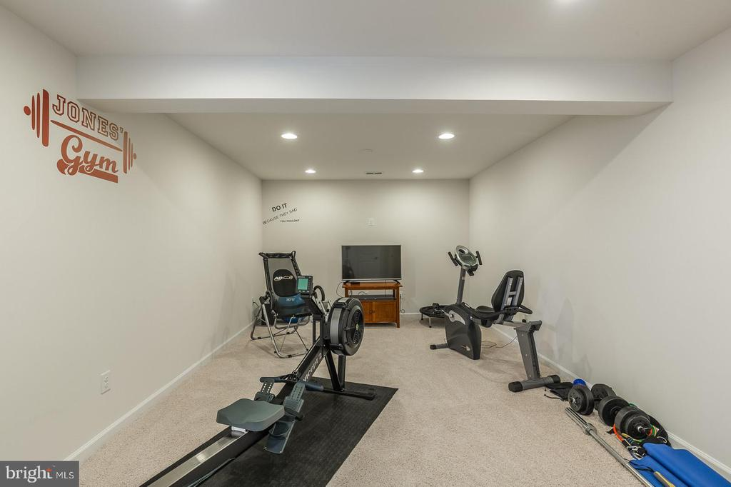 Exercising room or another bedroom with full bath - 3344 SOARING CIR, WOODBRIDGE
