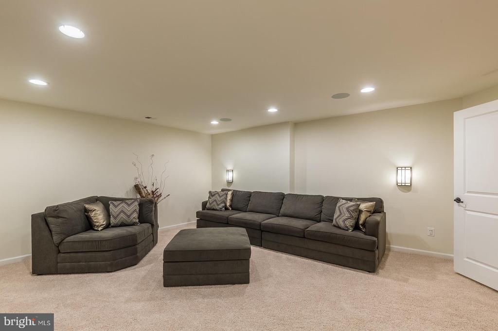and recessed lights , ready for a fun movie night! - 3344 SOARING CIR, WOODBRIDGE