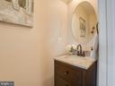 Downstairs Powder Room with Upgraded Sink Vanity - 6105 MCCARTHY DR, KING GEORGE