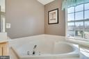 Large Corner Soaking Tub with Window - 6105 MCCARTHY DR, KING GEORGE