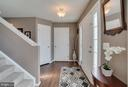Bright Entrance to Foyer - 6105 MCCARTHY DR, KING GEORGE