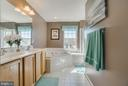 Large Master Bathroom - 6105 MCCARTHY DR, KING GEORGE
