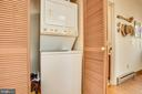 Stacking washer/dryer convey - 61 AQUIA CREEK, STAFFORD