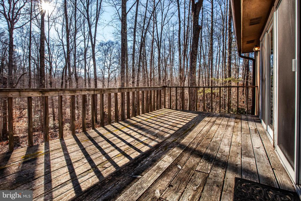 Deck of 2nd home - 61 AQUIA CREEK, STAFFORD