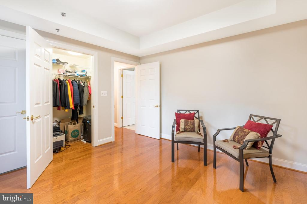 More closet and en suite bath - 1555 N COLONIAL TER #501, ARLINGTON