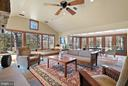 New Addition holds Family Room and Dining Room - 43470 EVANS POND RD, LEESBURG