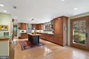 High end cabinetry with inset doors - 43470 EVANS POND RD, LEESBURG