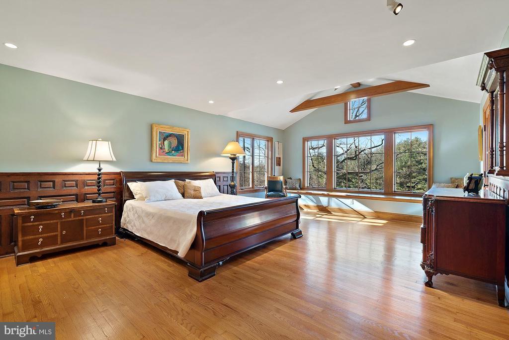 Sumptuous Master Bedroom - 43470 EVANS POND RD, LEESBURG