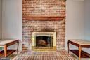 Wood Burning Fireplace - 9 BURNS RD, STAFFORD