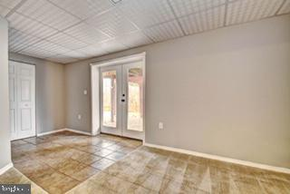 Lower Level Rec Room with Exterior Exit - 9 BURNS RD, STAFFORD