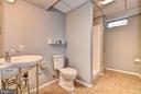 Lower Level Full Bathroom - 9 BURNS RD, STAFFORD