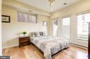 Bedroom #3: Wall of Windows Equals Very Sunny Room - 1811 3RD ST NE #1, WASHINGTON