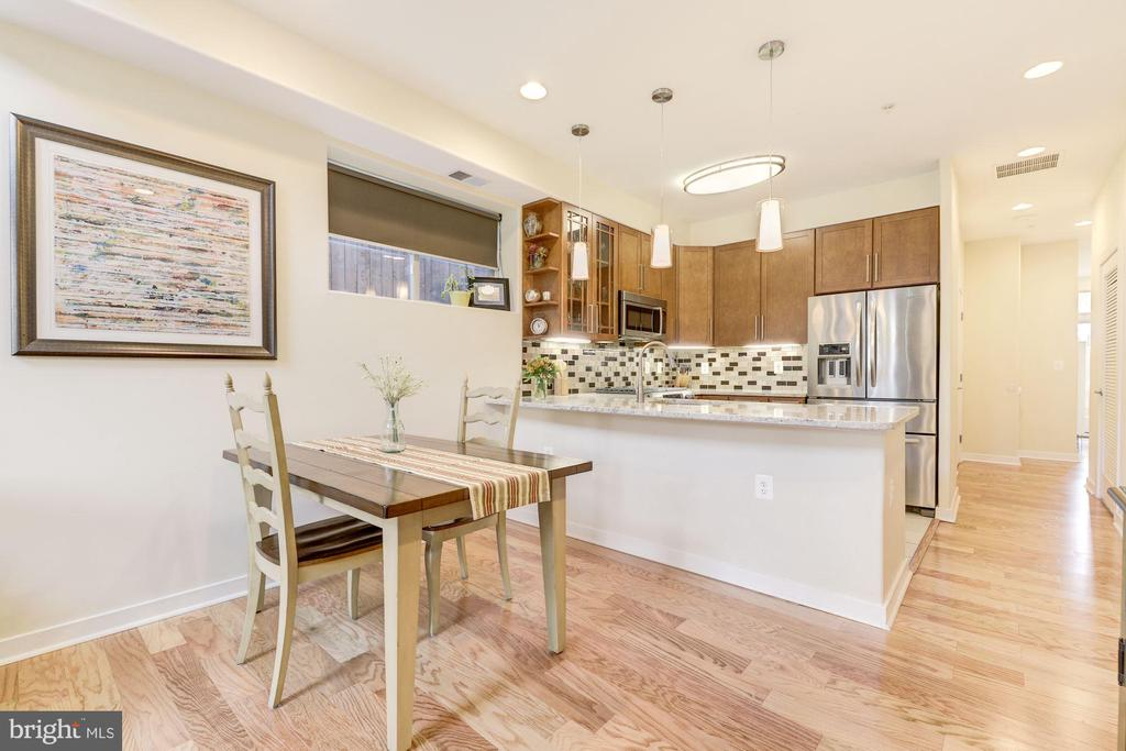 Separate Dining Room Space with Hardwood Floors! - 1811 3RD ST NE #1, WASHINGTON