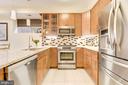 Kitchen: Gas Cooking & French Door Refrigerator! - 1811 3RD ST NE #1, WASHINGTON