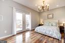 Master Bdrm: Recess Lighting + Gorgeous Chandelier - 1811 3RD ST NE #1, WASHINGTON