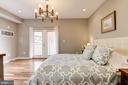 Master Bedroom: Pristine Hardwood Floors! - 1811 3RD ST NE #1, WASHINGTON